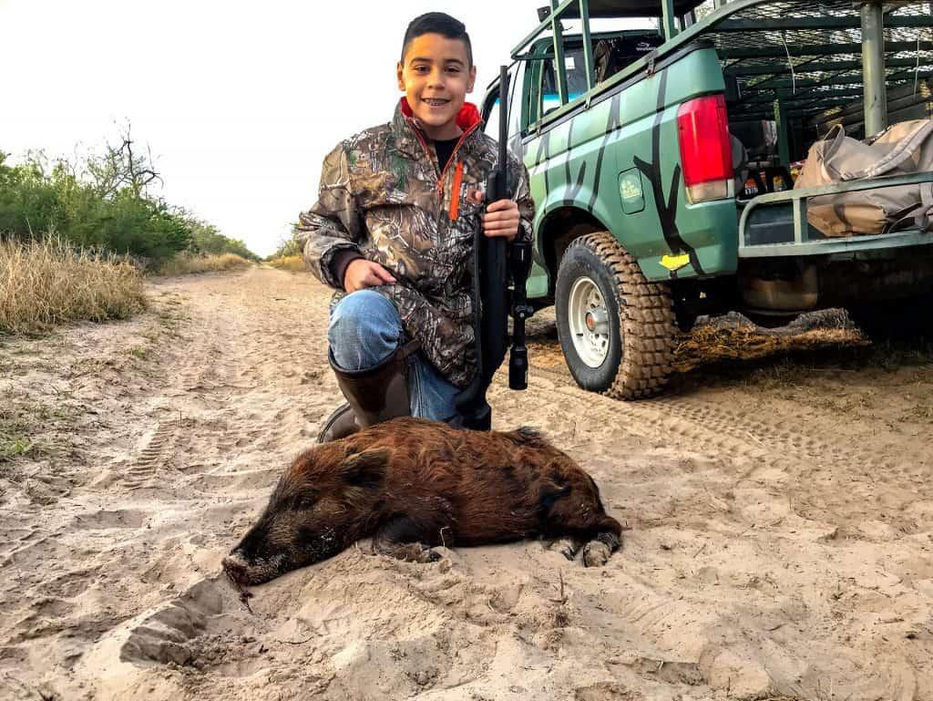 Ryan's 1st Hog, Congrats Little Man.... 👍