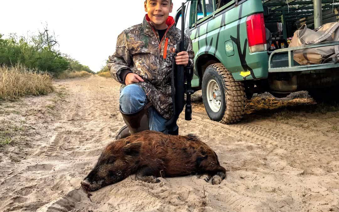 Ryan's 1st Hog