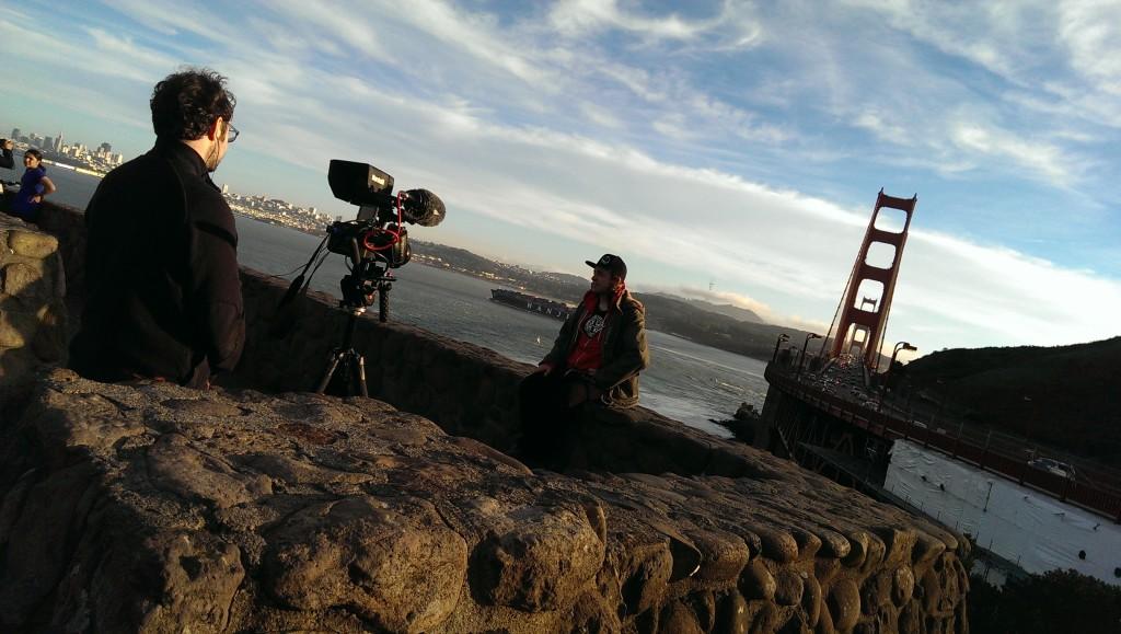 Dale & Clark at Golden Gate Bridge