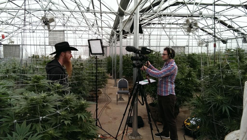 Dale interviewing Paul Tokin @ River Rock, Denver