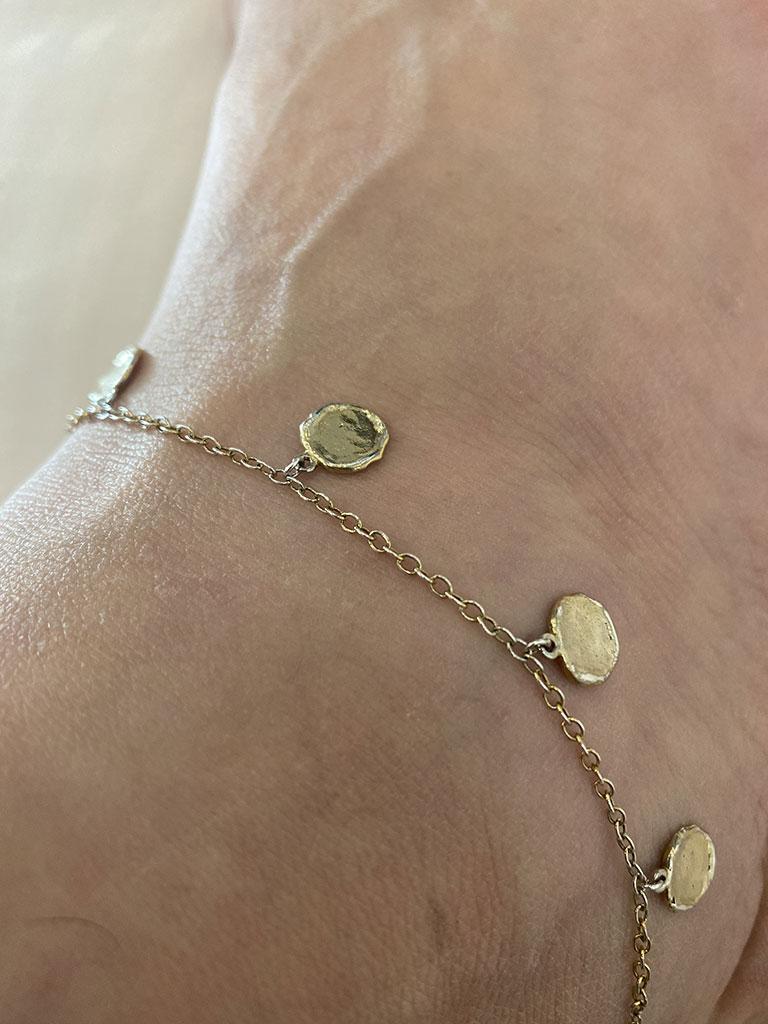 Jacquie Aiche Gold Anklet