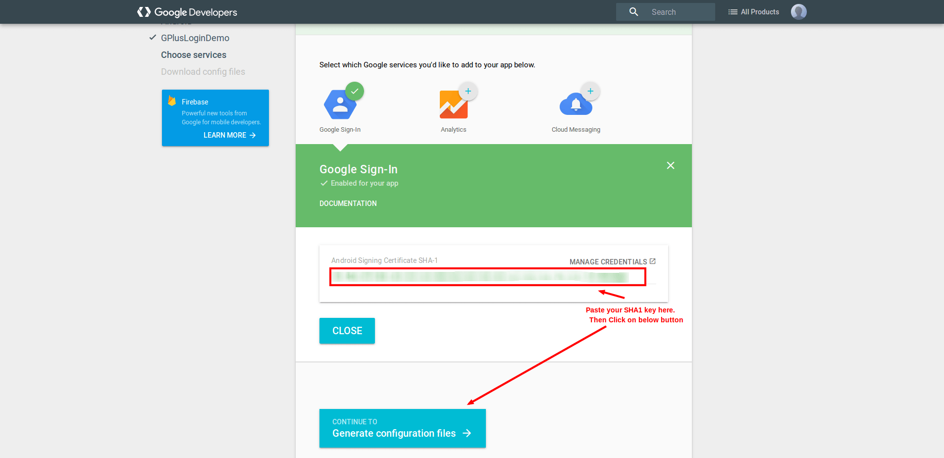Integrate Google Plus Sign In To Double Your Android App Registration