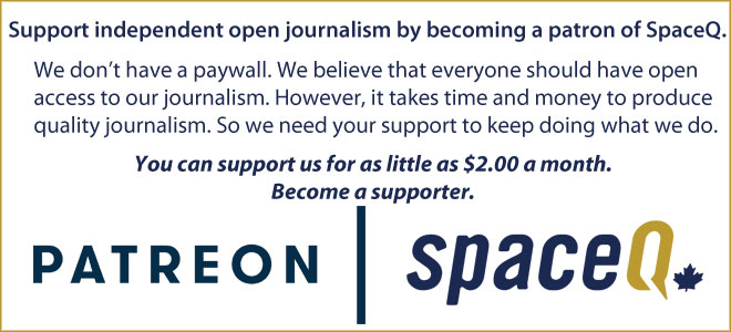 Support SpaceQ by becoming a patron on Patreon