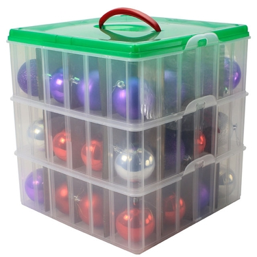 Storage Container: Christmas Ornament Storage Container