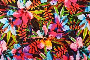 Floral Print (Red/Fuchsia/Multi)