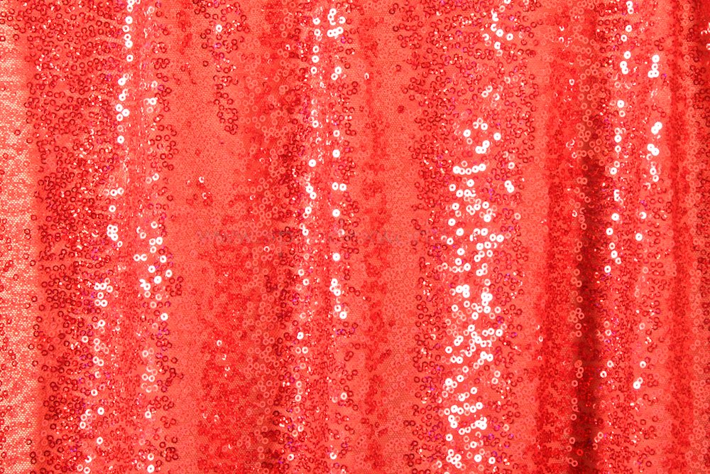 Stretch Sequins (Red/Red Sparkle)