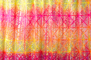Pattern/Abstract Hologram (Yellow/Orange/Pink/Silver)