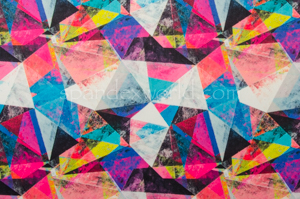 Abstract Print (Blue/Fuchsia/Multi)