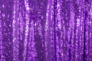 Non-Stretch Sequins(Purple/Purple)