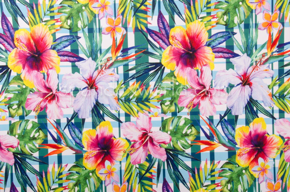 Floral Prints (Blue/Green/Multi)
