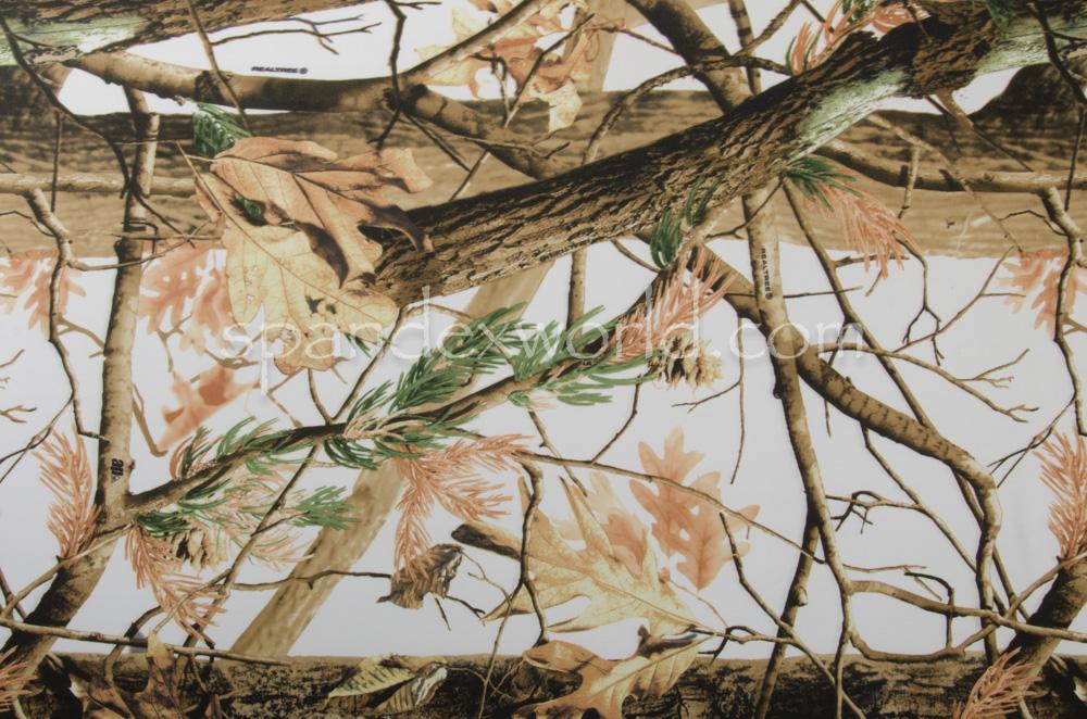 Printed Spandex (Tree Print)