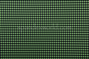 Printed Spandex (Black/Green)