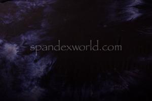 Printed Spandex (Black/Purple)