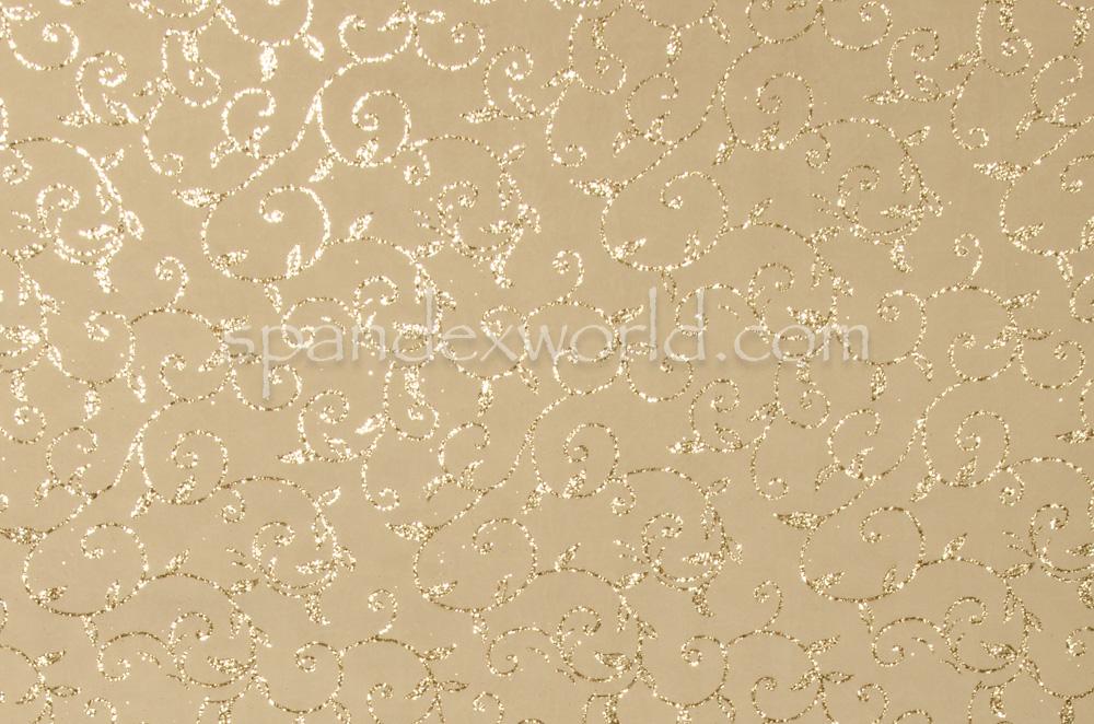 Novelty Spandex (Gold/Gold)