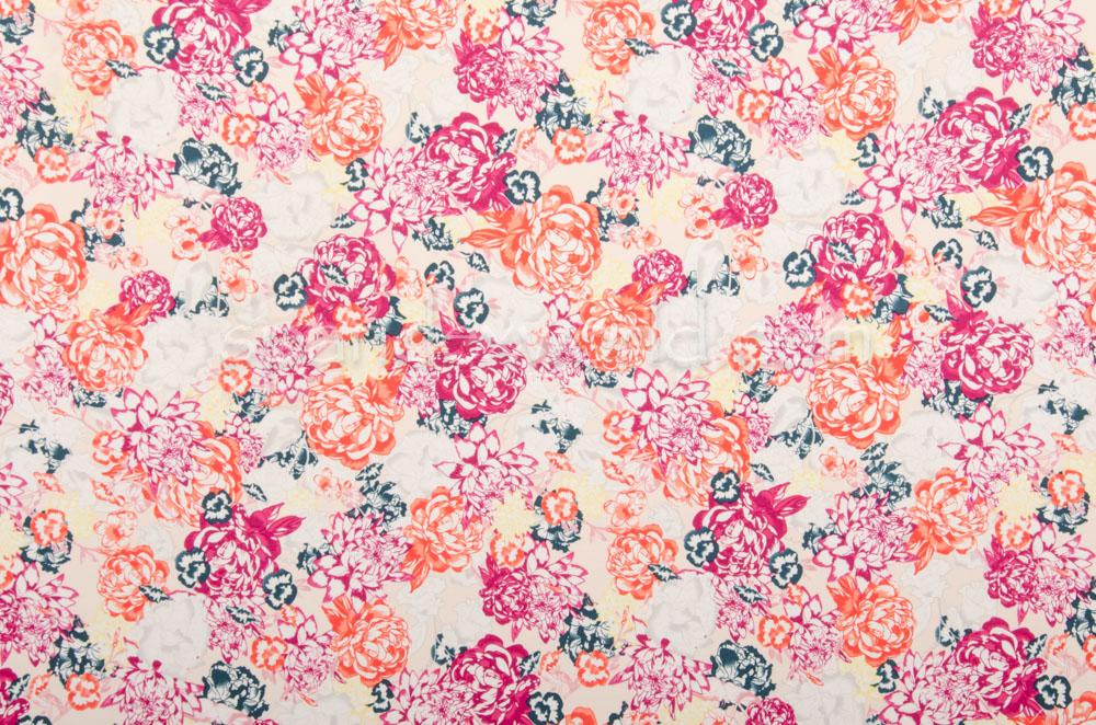 Floral Print (Orange/Maroon/Multi)