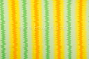 Printed Spandex (Yellow/Green/Orange)