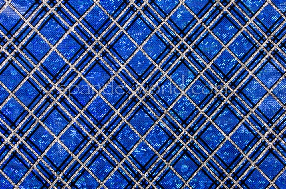 Pattern/Abstract Hologram (Royal/Silver/Black)