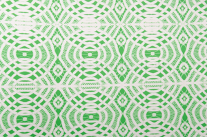 Abstract Print (White/Green)