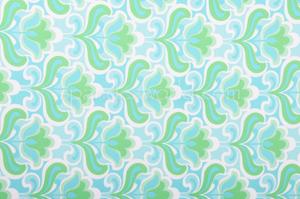 Floral Print (Blue/Green)