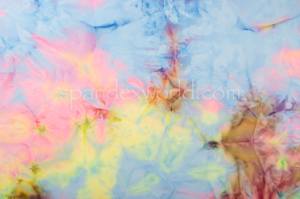 Tie dye spandex (Blue/Pink/Multi)