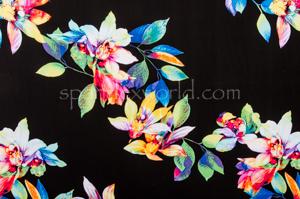 Floral Print (Black/Multi)