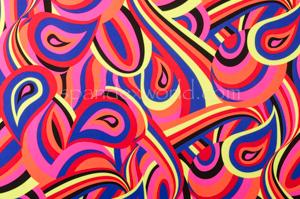Paisley Print (Red/Lime/Fuchsia/Multi)