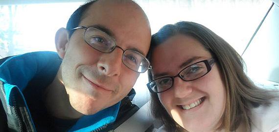 Chris and I met on ChristianMingle on May 5
