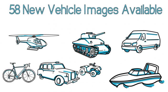 58 vehicles image
