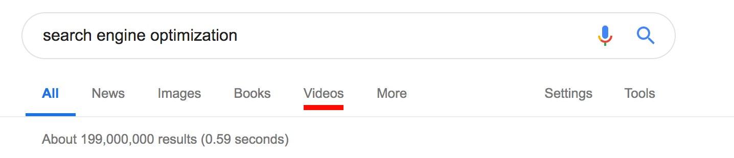 Google algorithm update: Search Engine Optimization search results