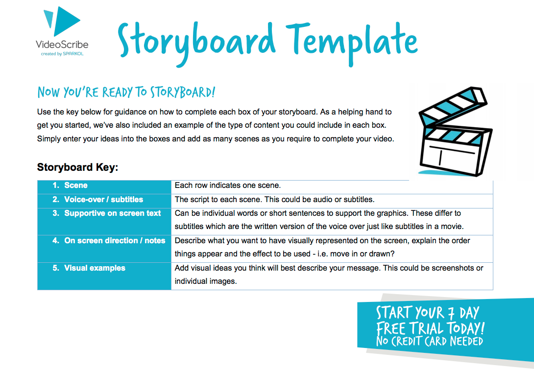 Storyboard for Explainer Video