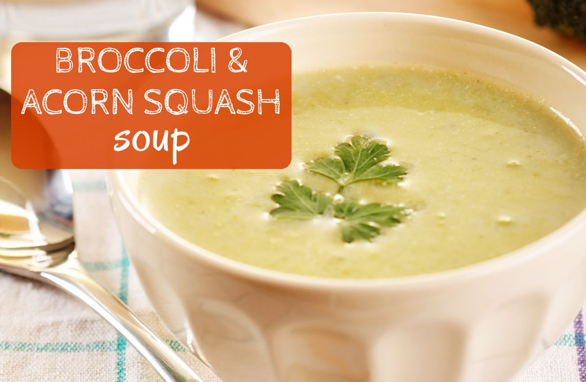 Broccoli Acorn Squash Soup