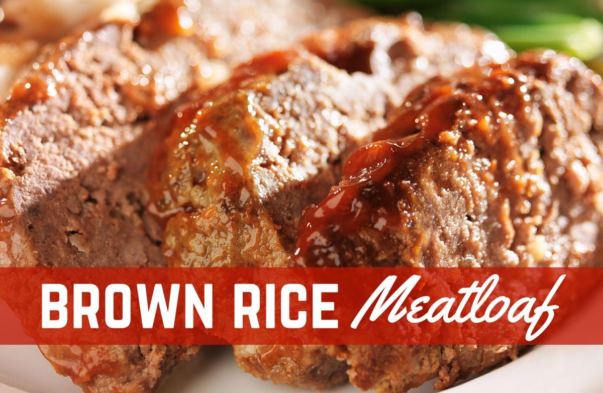 Brown Rice Meatloaf