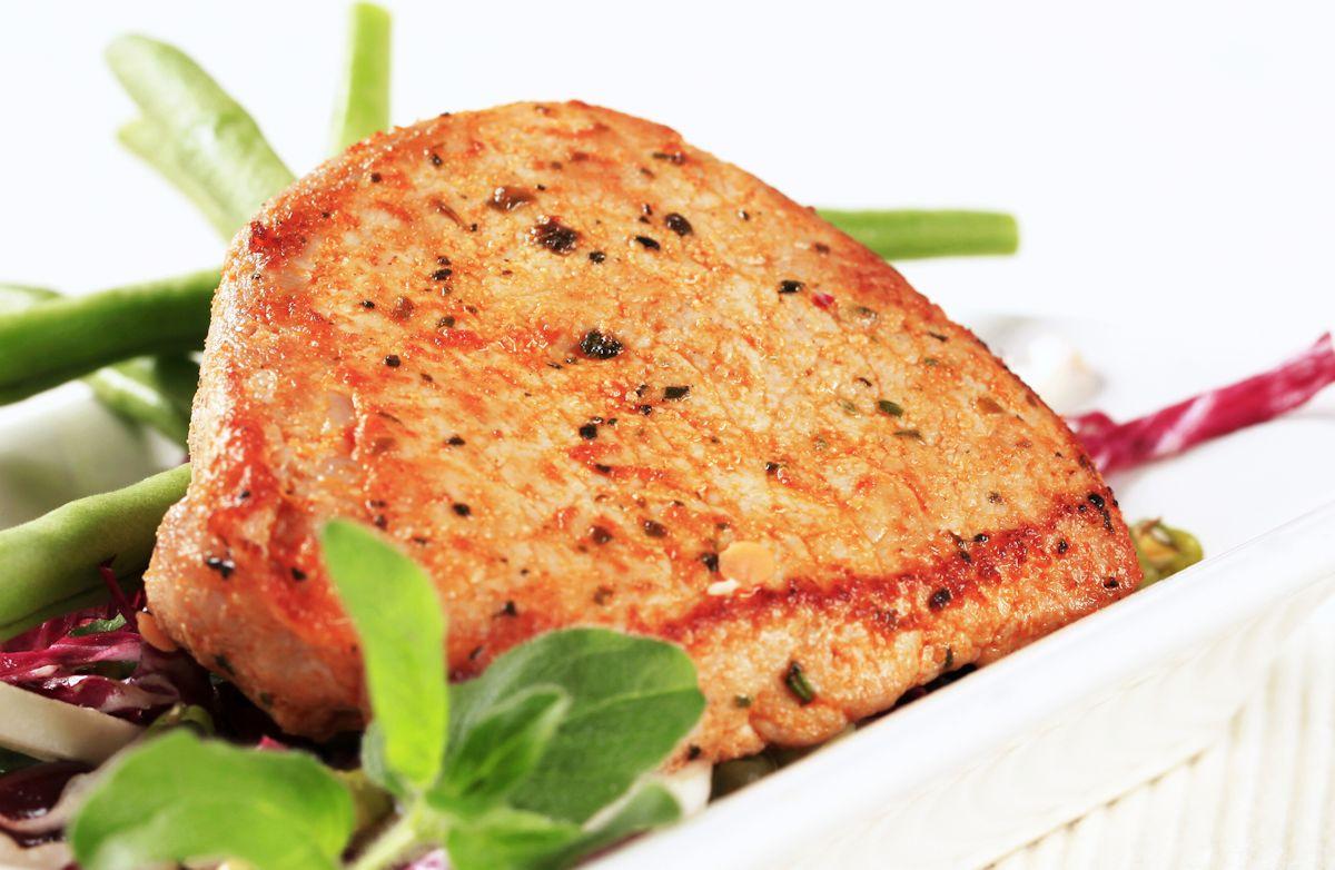 Brown Sugar-Mustard Pork Chops