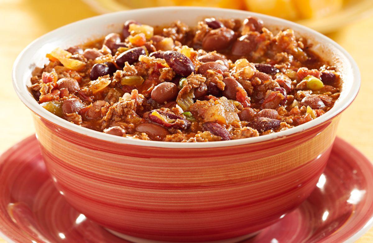 Chili - Ground Turkey Chili Stew + Halloween/Autumn Variation!