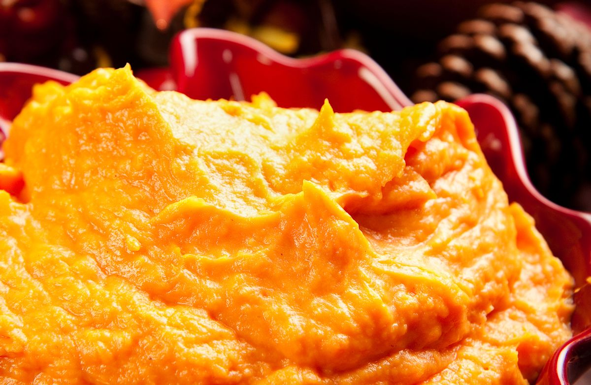 Creamy Sweet Potato Mash