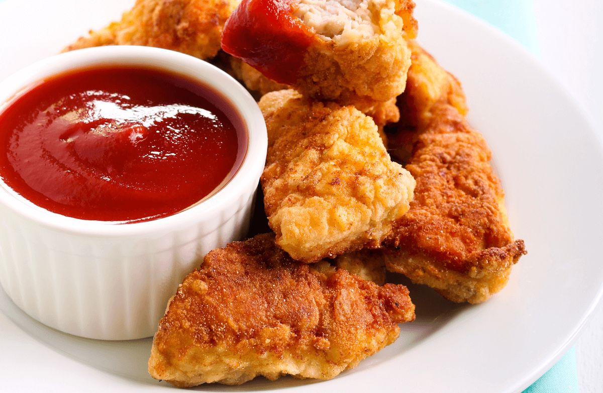chicken nuggets are great Crispy on the outside and tender on the inside, homemade baked chicken nuggets are 1000x healthier and tastier at home chicken nuggets are one of my daughter's favorite meals she has them on a weekly basis and i honestly can't think of anything else more versatile then chicken nuggets i.