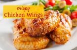 Crispy Chicken Wings (baked)