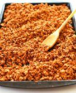 Easy Chocolate Peanut Granola Cereal - Diabetic Friendly