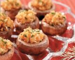 Easy Crab Stuffed Mushrooms