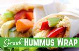 Greek Hummus Wrap