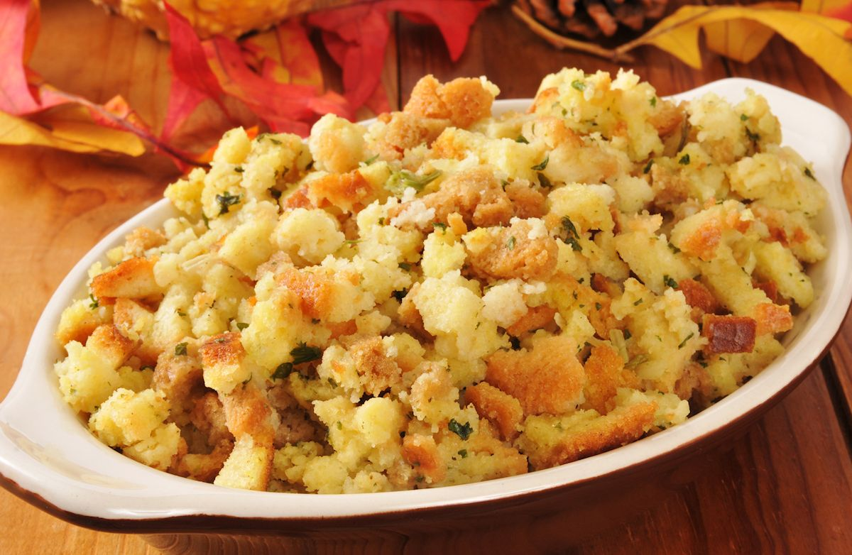 Stove Top Stuffing Salmon Recipes | SparkRecipes