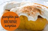 Mamms' Pumpkin Pie Brownie Surprise