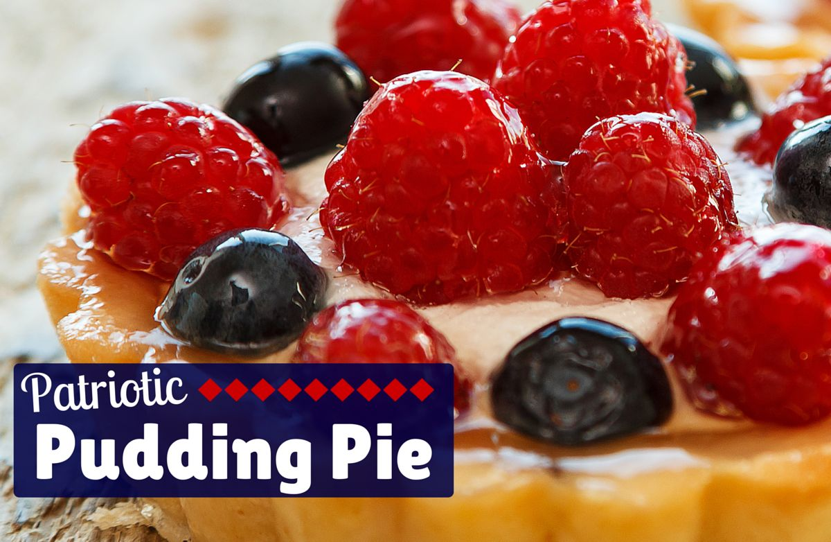 Patriotic Pudding Pie