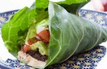 Vegetarian Collard Wraps