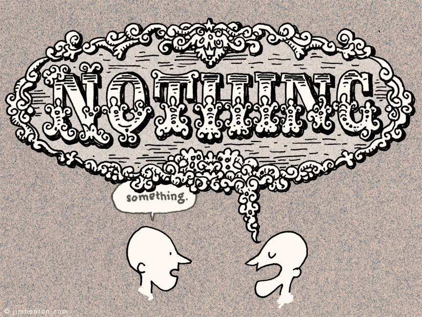 Saying something versus saying nothing