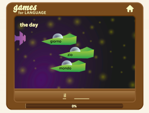 gamesforlangage.com screenshot