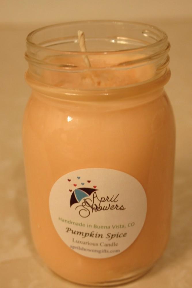 Medium Jar Candle: Pumpkin Spice