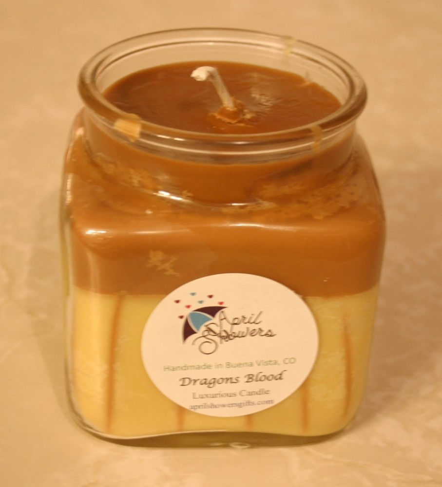 Small Jar Candle: Dragons Blood