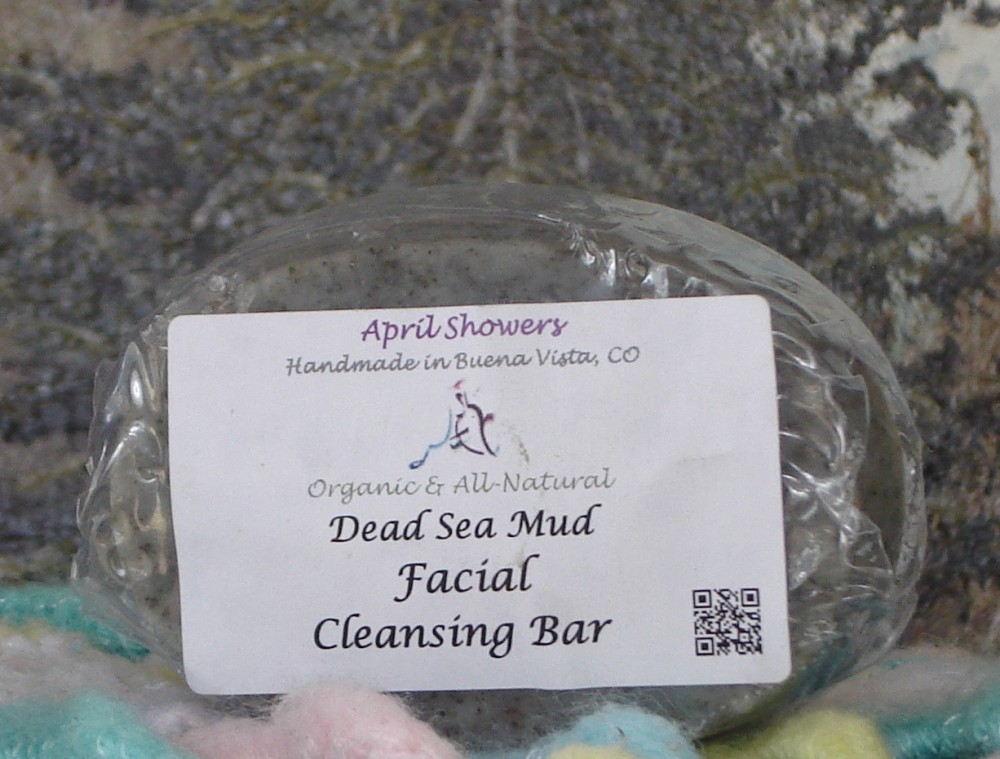 Dead Sea Mud Facial Cleansing Bar