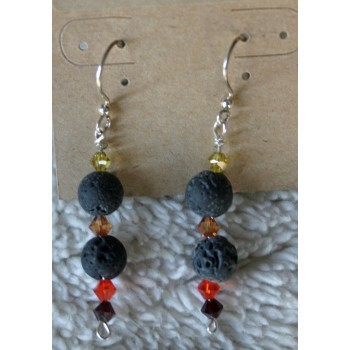 Essential Oil Earrings/fall Color